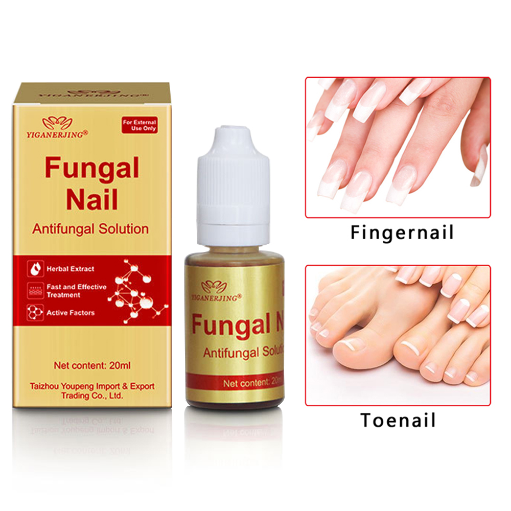1pcs 20ml Effective Fungus Removal Nail Treatment Herbs Essence Oil Moisturizing Care Foot Nail Liquid Hand Foot Care TSLM2