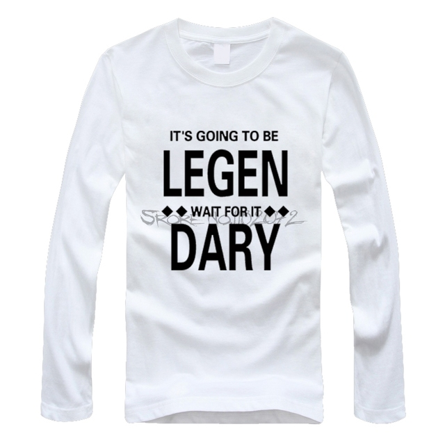b37f1fd2aa77 New Summer men Women Slim Fit Long Sleeve tee shirt Ted Mosby TV How I Met  Your Mother T-shirts Casual Stylish T Shirts