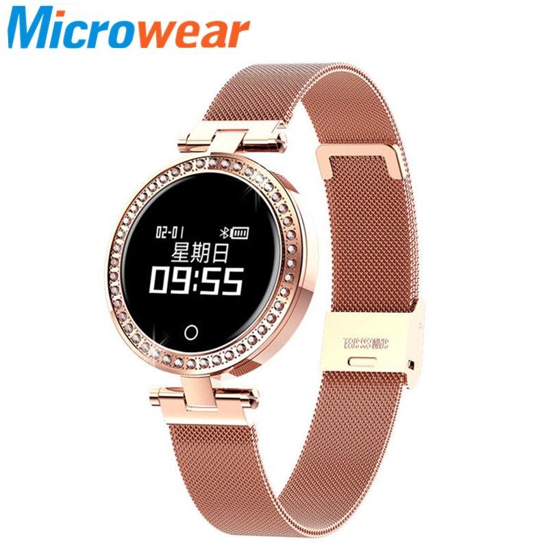 Smart watch women X10 smart watch feminino IP68 waterproof heart rate monitor blood pressure measurement smart electronics VS m8