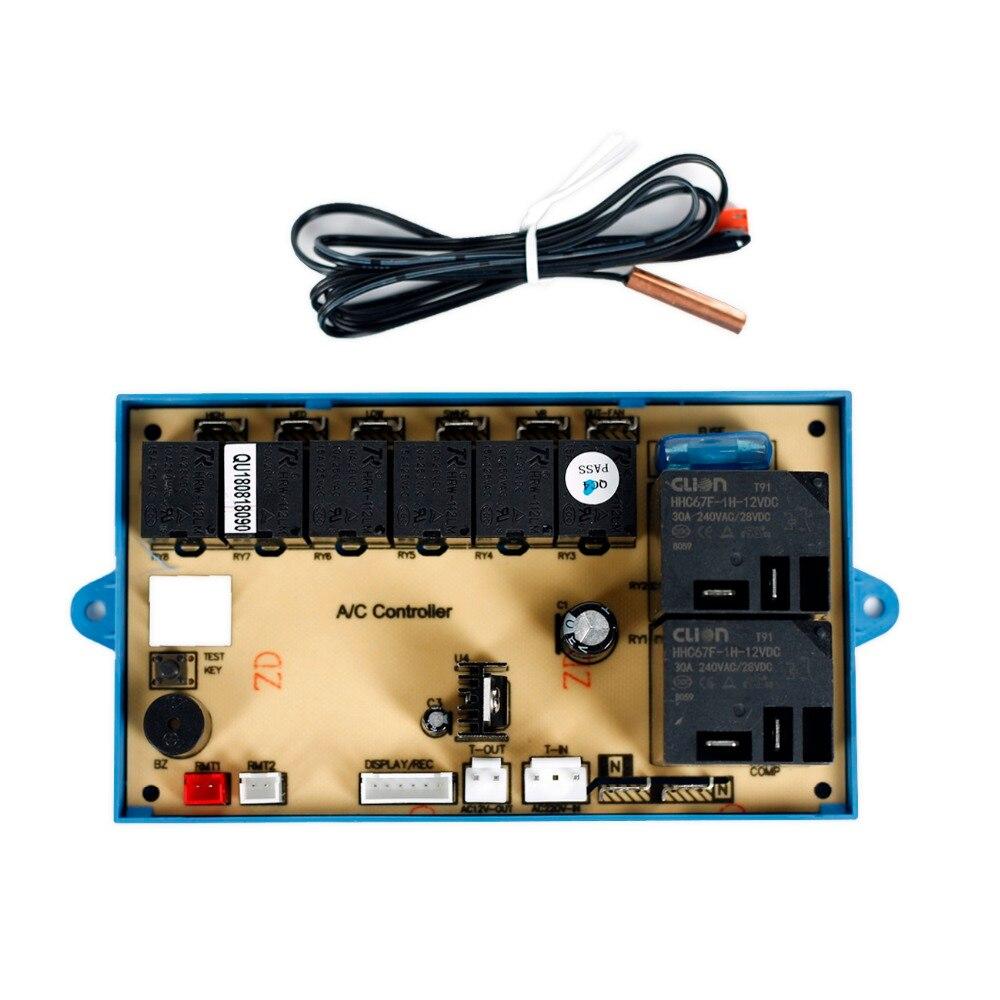 Универсальный напольный D/C A/C инвертор система управления для QUNDA QD81B кондиционер пульт дистанционного управления шкаф - 2