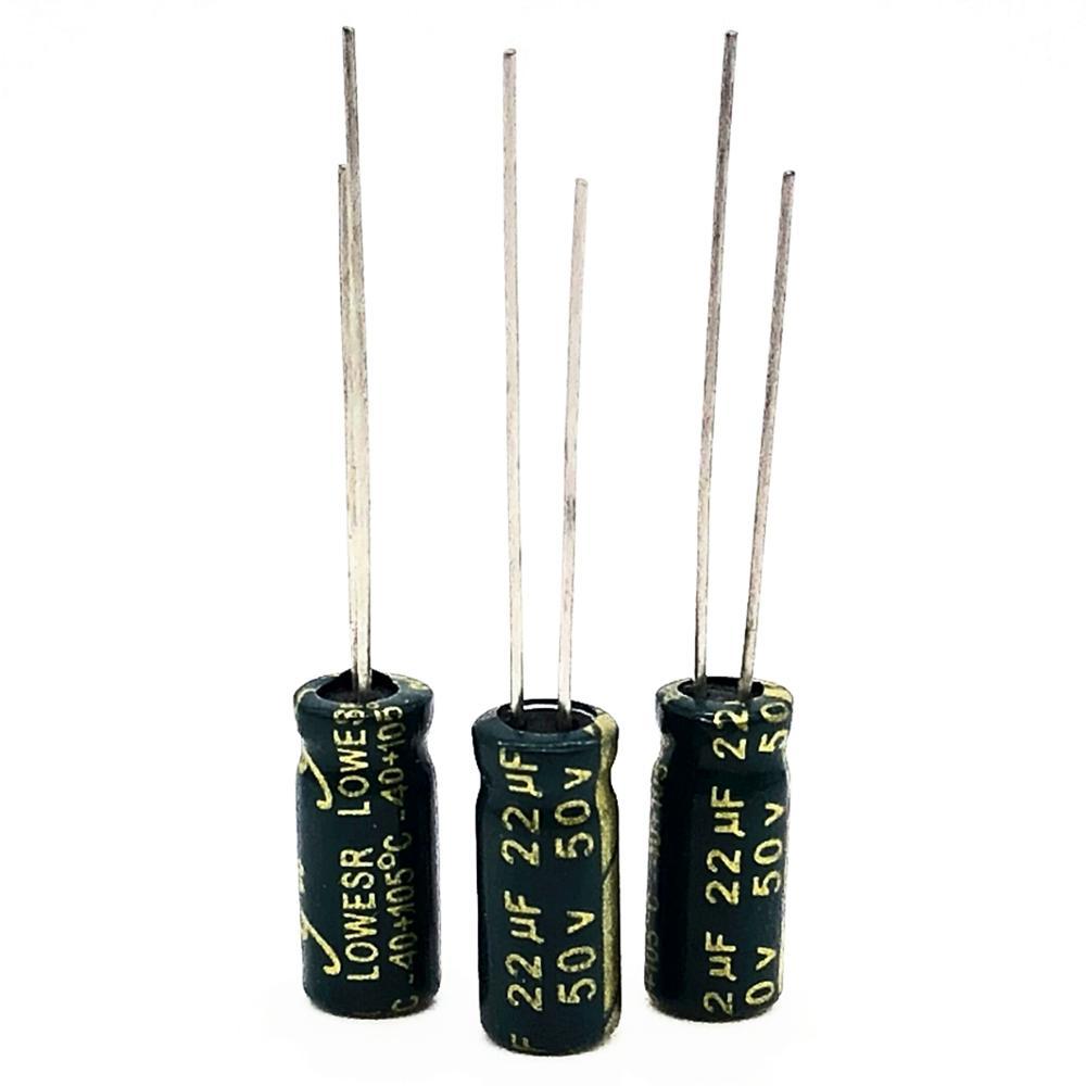 50V 22UF 5*11 Aluminum Electrolytic Capacitor 22uf 50v 20%