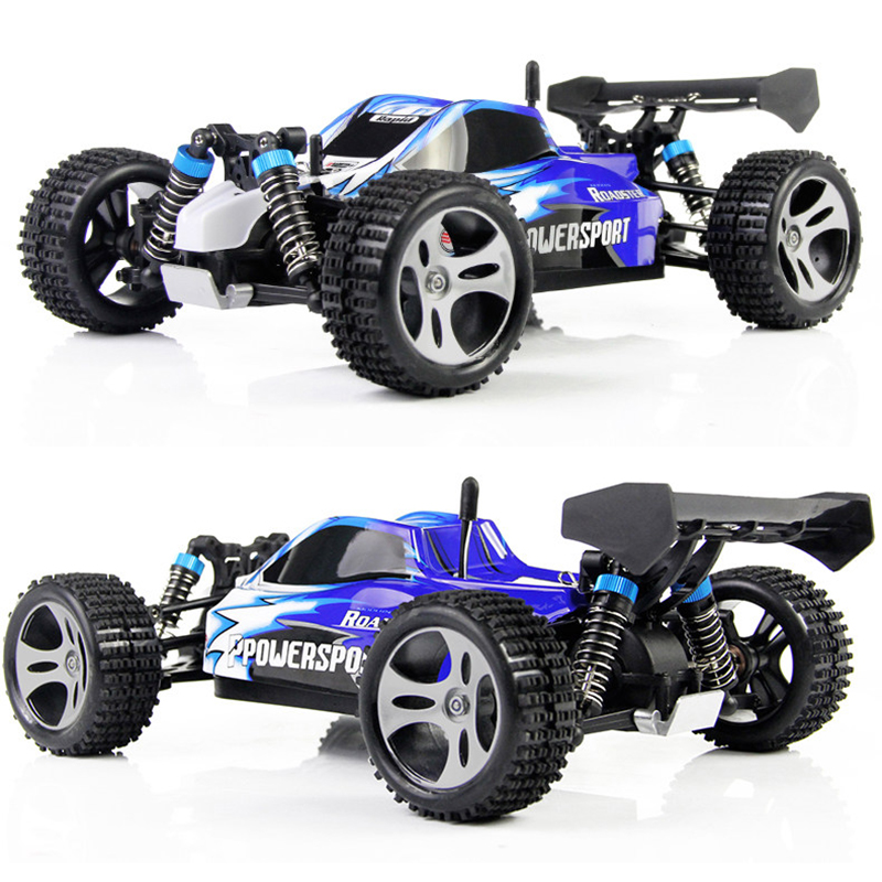 Wltoys A959 <font><b>RC</b></font> 1:18 Scale <font><b>RC</b></font> Car 4WD 45KM/H Off-Road High Speed <font><b>RC</b></font> <font><b>Drift</b></font> Car Radio Control Rock Crawler Remote Control Car image