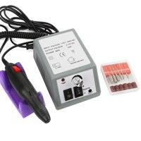 20000 RPM 30000 RPM Nail Art Máquina Manicure Pedicure Pen Tool Set Kit Furadeira Elétrica Mãos Polidor de Unha Lixa de Unha Ferramentas da arte do prego