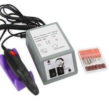 20000RPM 30000RPM Nail Art Drill Electric Machine Manicure Pedicure Pen Tool Set Kit Hands Nail Polisher File Nail Art Tools