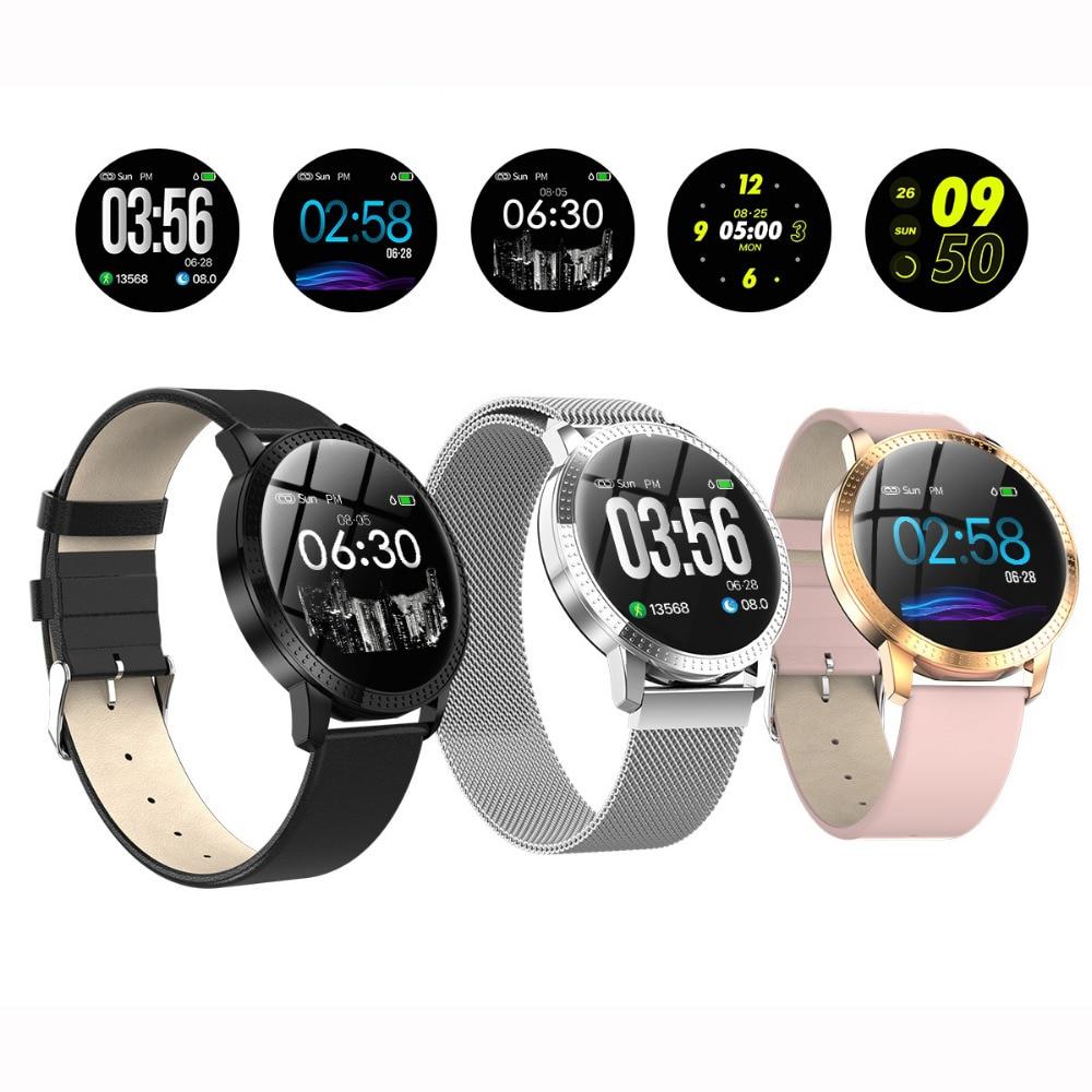 SENBONO inteligente reloj de Fitness de GPS tracker reloj podómetro reloj impermeable de mujeres deportes smartwatch para Android IOS