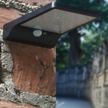 36 LED Solar Powered Wall Light Motion Sensor Security Lamp