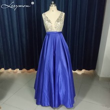 Real Blue Evening Sequined
