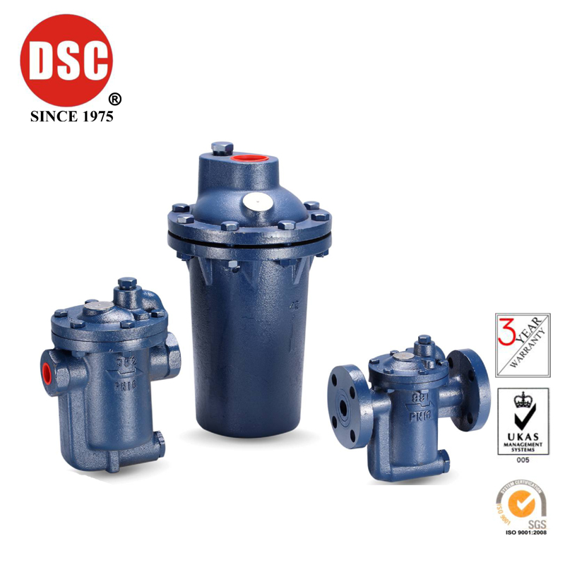 Taiwan DSC cast iron inverted bucket steam traps No 981、991、41 series in Valve from Home Improvement