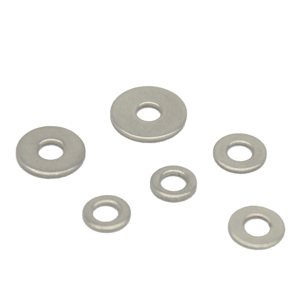 Flat Washer A2 Stainless Steel Plain Washer Standard Metric Flat Washers Size