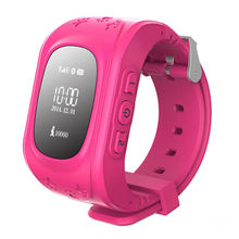 Free Shipping SOS Anti-lost wearable devices Wrist Watch phone Q50 Children's watches for Smartphones