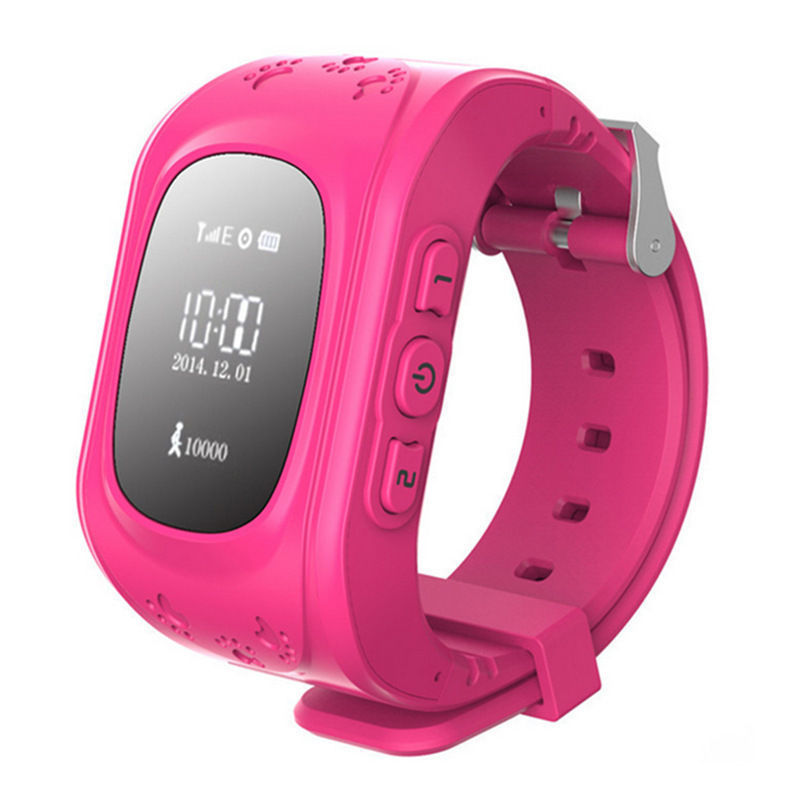 Free Shipping SOS Anti lost wearable devices Wrist Watch phone Q50 Children s watches for font