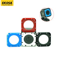 Go Pro Accessories Aluminum Alloy Lens Cover Replacement Set Lens Protective For GoPro Hero 4 Session