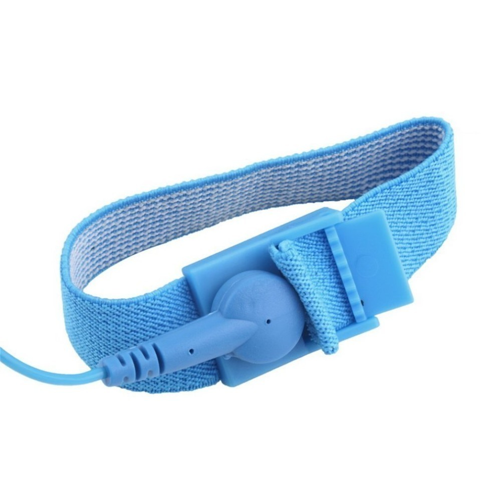 Esd Wrist Strap Alligator Clip Anti Static Discharge Band Grounding Prevent Static Shock Wholesale 2018 New Arrival Easy To Repair Wearable Devices