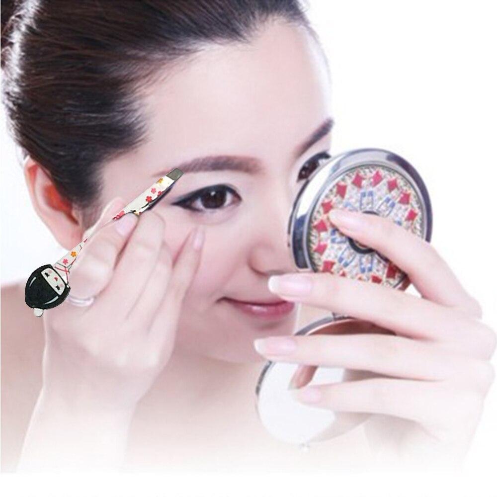 ᐃpinkiou 6ピースかわいい日本スタイル化粧品ピンセット用眉毛メイク