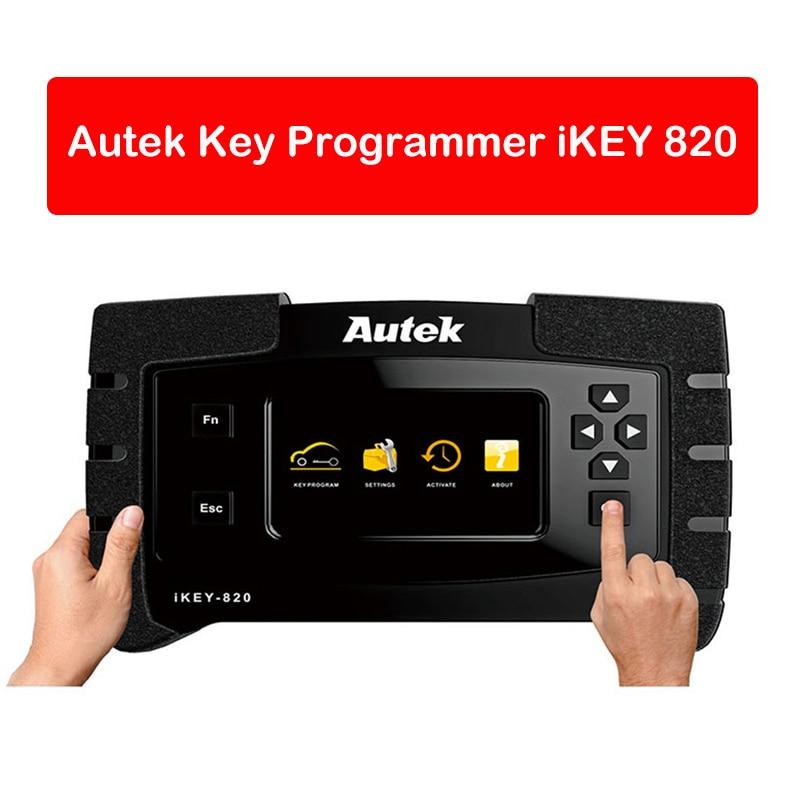 Original Autek IKey820 Key Programmer Professional Tool Car Auto Scanner Key Programmer Read Immobilizer Pin Codes