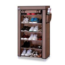หนาไม่ทอผ้าชั้นชั้นวางรองเท้ากันฝุ่นกันน้ำ Creative รองเท้าตู้รองเท้าชั้นวางรองเท้า DIY organizer