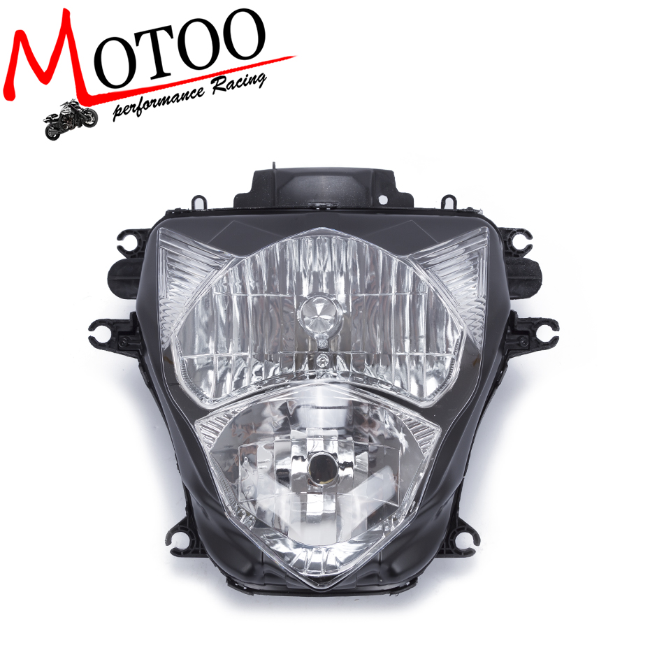 Motoo - Motorcycle Front Light Headlight Head Lamp For SUZUKI GSXR600 GSXR750 GSXR 600 750 2011-2016 11-16 K11 motorcycle winshield windscreen for suzuki gsxr600 gsxr750 gsxr 600 750 2011 2012 2013 2014 2015 11 12 13 14 15 k11