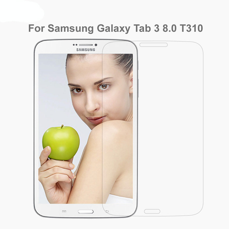 9H 2.5D 0.3MM Tempered Glass For Samsung Galaxy Tab 3 T310 T311 8