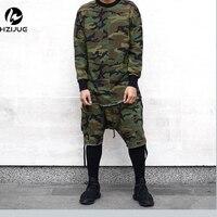 Man Si Tun Hip Hop Justin Bieber Clothes Street Wear 2017 Kpop Urban Clothing Men Long