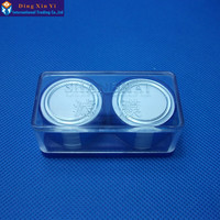 200pcs Lot 25mm 0 45um Or 0 22 Microporous Solvent Millipore Nylon Membrane Filter For Solvent
