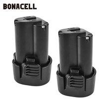 цена на Bonacell 10.8V 1500Ah BL1013 BL-1013 battery For Makita BL1013 194550-6 194551-4 Li Ion Replace Accumulators L15