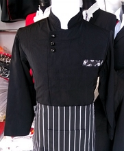 Chef Clothes Long Sleeve Hote Restaurant Cooks Clothing  Chef Uniform Long Sleeve White Clothes for Cook