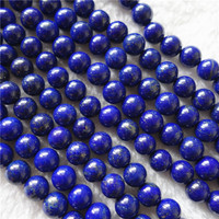Brazil round beads charming jewelry natural Lapis for making jewelry 8mm quality of A stone bracelet