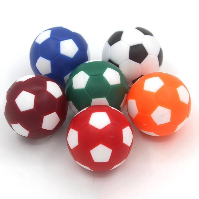 12 Pcs Colorful Foosball Table Soccer Balls Mini Table Football Plastic 32MM