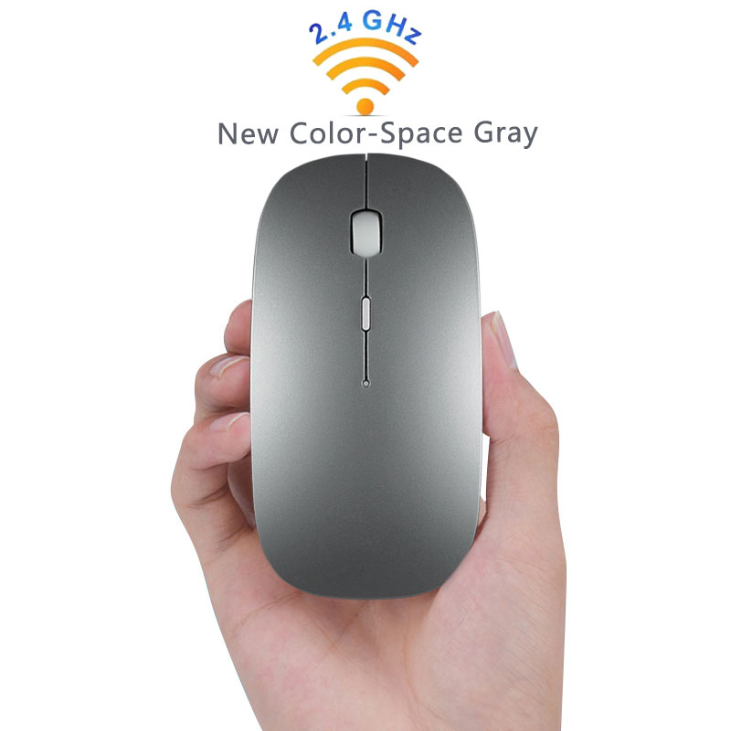 Wireless Tablet Mouse for Computer Android Tablets Windows PC Rechargeable Usb Mouse for Macbook Acer Asus Lenovo Xiaomi