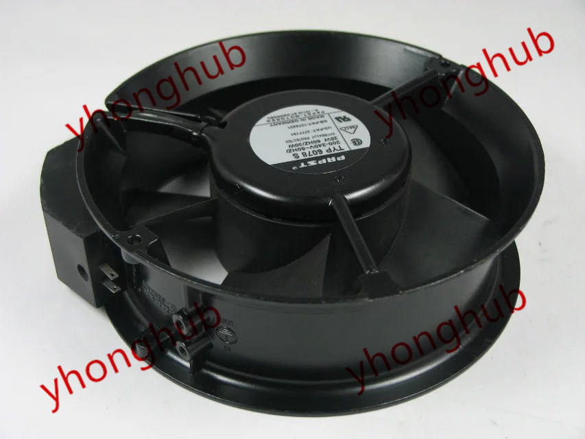 ФОТО Free Shipping For Papst TYP 6078 S 200-240V 25W 2-pin 172x172x51mm Server Round fan