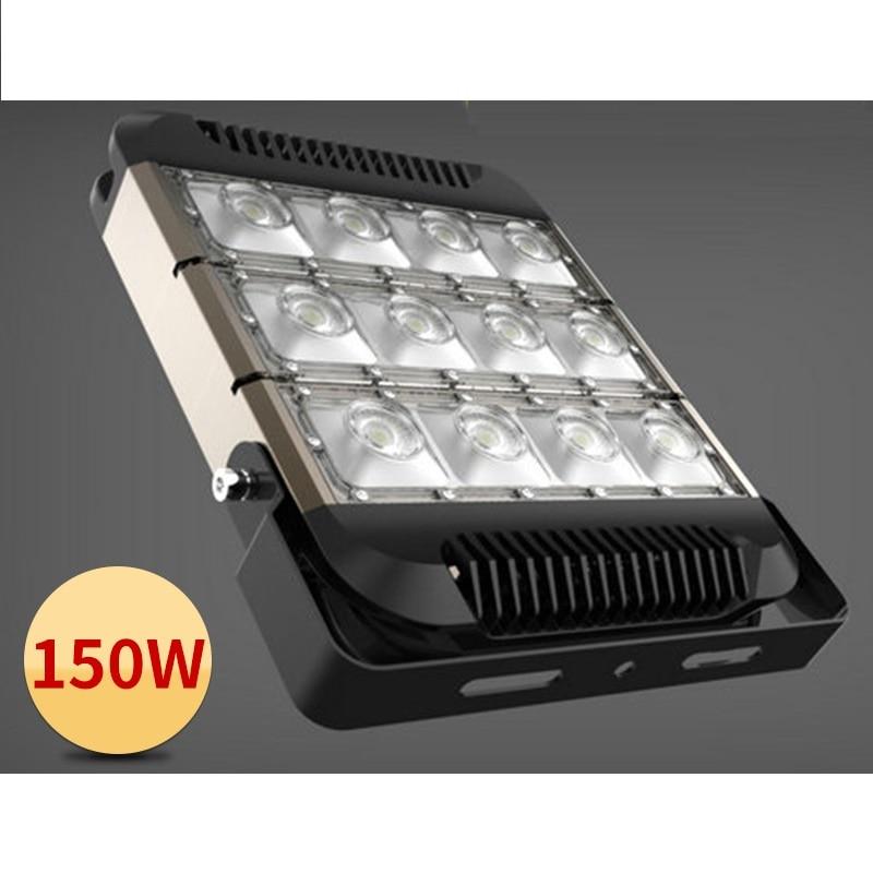 newest slim led flood light 50w 100w 150w 200w high lumens led spotlight outdoor lamp ac85 265v. Black Bedroom Furniture Sets. Home Design Ideas
