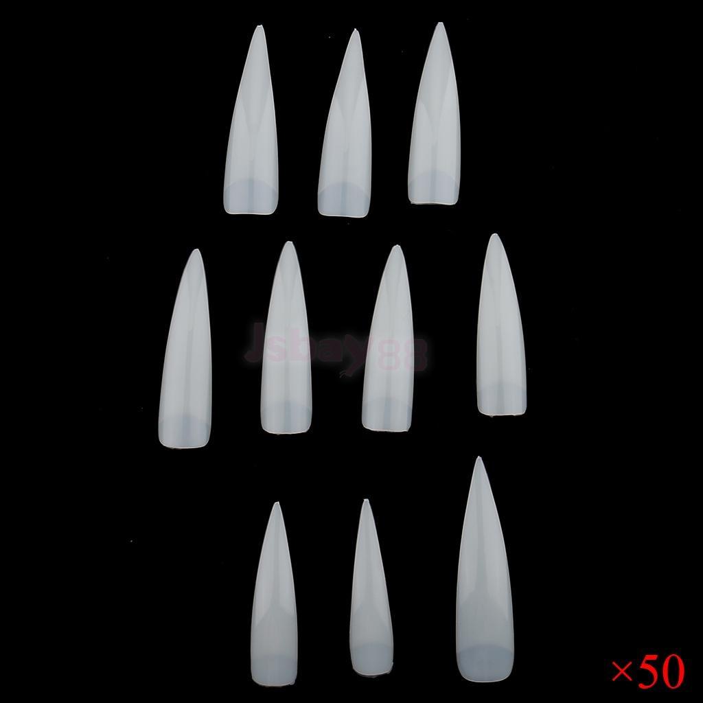 lote a granel 500 pcs uv gel falso ponto acrilico manicure unhas arte dicas conjunto de