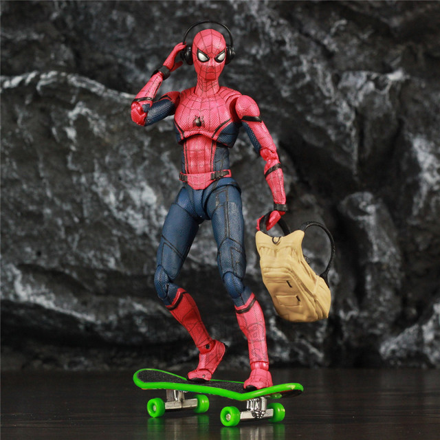 Marvel Spider Man Tom Holland 6″ Action Figure Homecoming Ver Spiderman Legends Far From Home KO's SHF Toys Doll