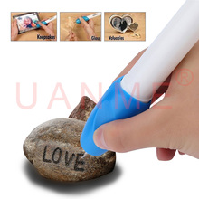 UANME 1 Piece High Quality Mini Engraving Pen Electric Carving Pen Machine Graver Tool Engraver with Replacement Nozzle goldsmith inside ring engraving machine ring engraver metal engraving tool graver engraving machine
