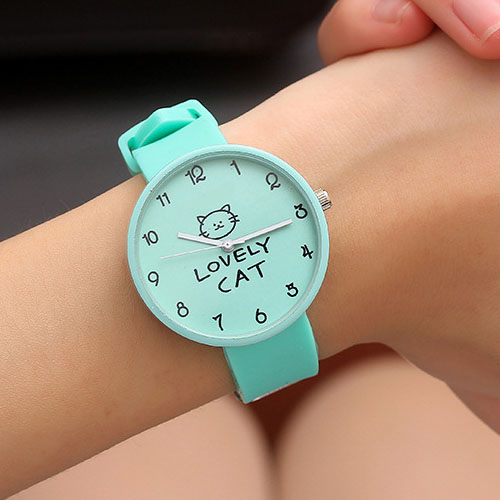 JBRL Brand Kids Watches Fashion Students Children Watch Girls Silicone Wrist Clock Child Hours Quartz Wristwatch For Girl Gift