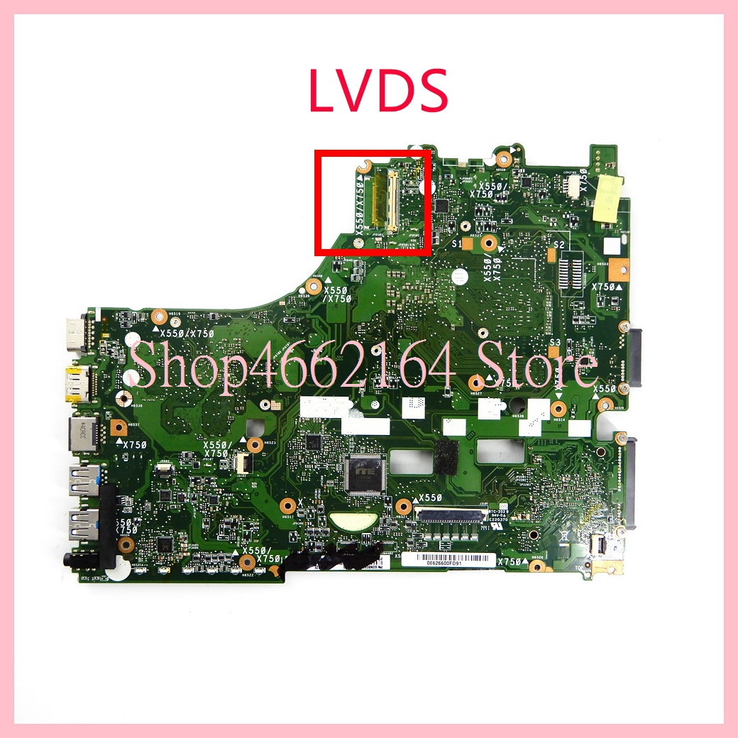 Image 2 - X550ZE motherboard REV2.0 For ASUS X550ZE A10 7400CPU Laptop motherboard X550 X550Z X550ZA Notebook mainboard fully tested-in Laptop Motherboard from Computer & Office