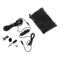 BY M1DM Lavalier Microphone 4m Omni directional Clip on Lapel Video Mic for iPhone Canon Nikon DSLR,Updated of BY M1