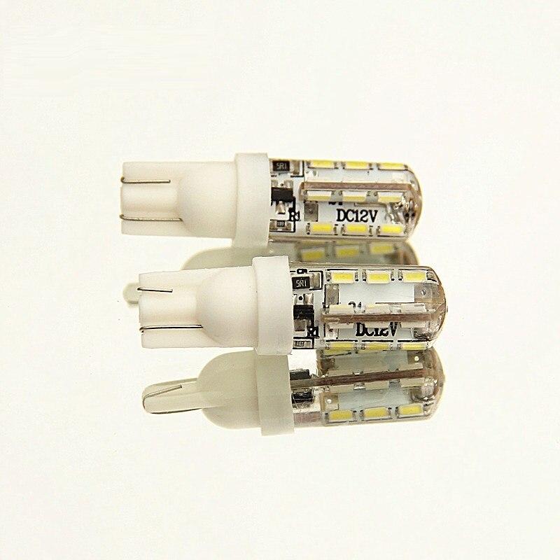 Dianshi T10 194 W5W 48smd 4014 a mené la lampe automatique de plaque d'immatriculation de silicium de Canbus de lumière de dégagement de voiture