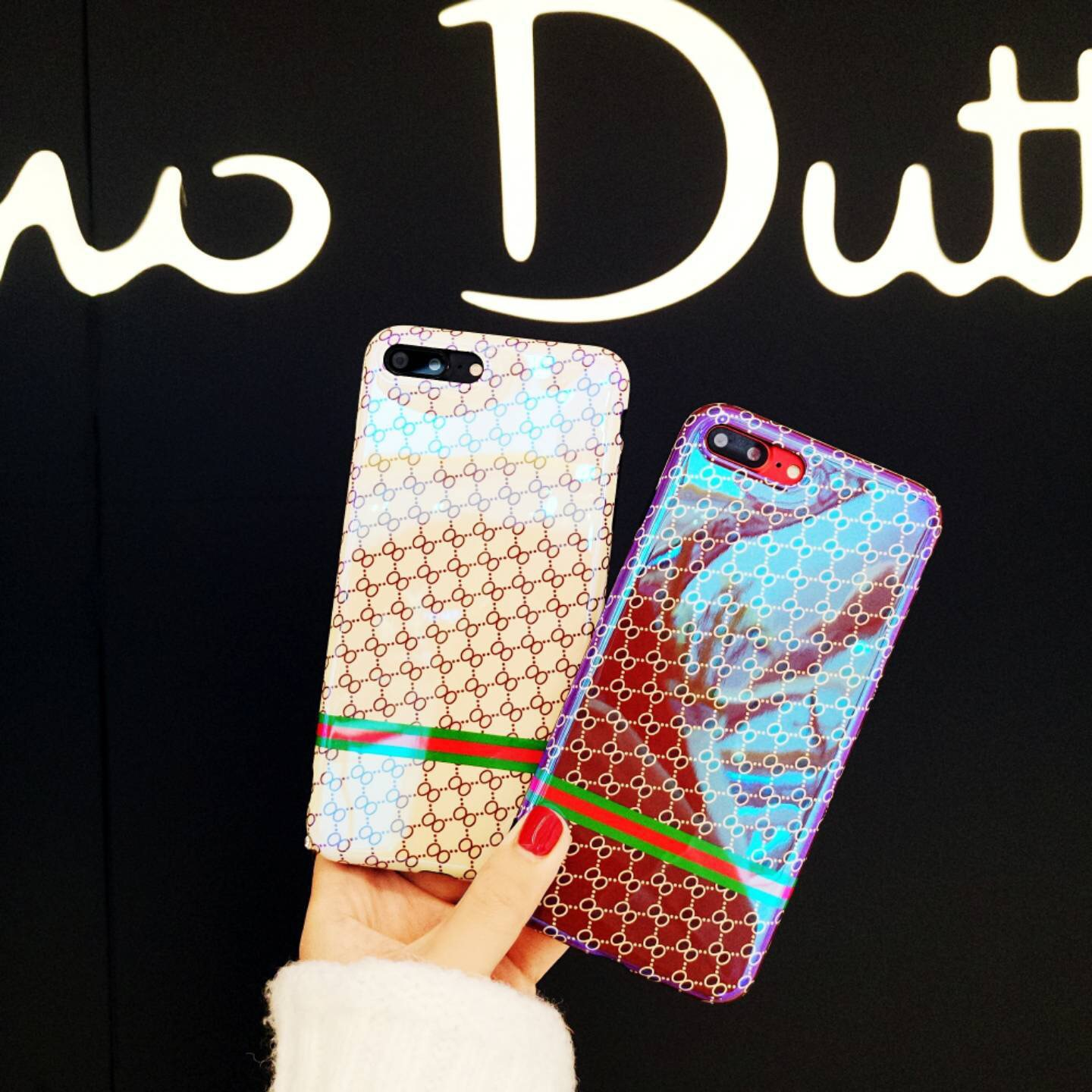 SZYHOME Phone Cases For iPhone 6 6s 7 Plus Vintage Fashion Luxury <font><b>Blu-ray</b></font> TPU Silicon For iPhone 8 Phone Cover Case Capa Coque