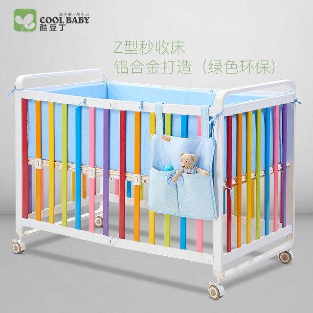 Coolbaby fresco plegable cama Douding juego cuna aleación de ...