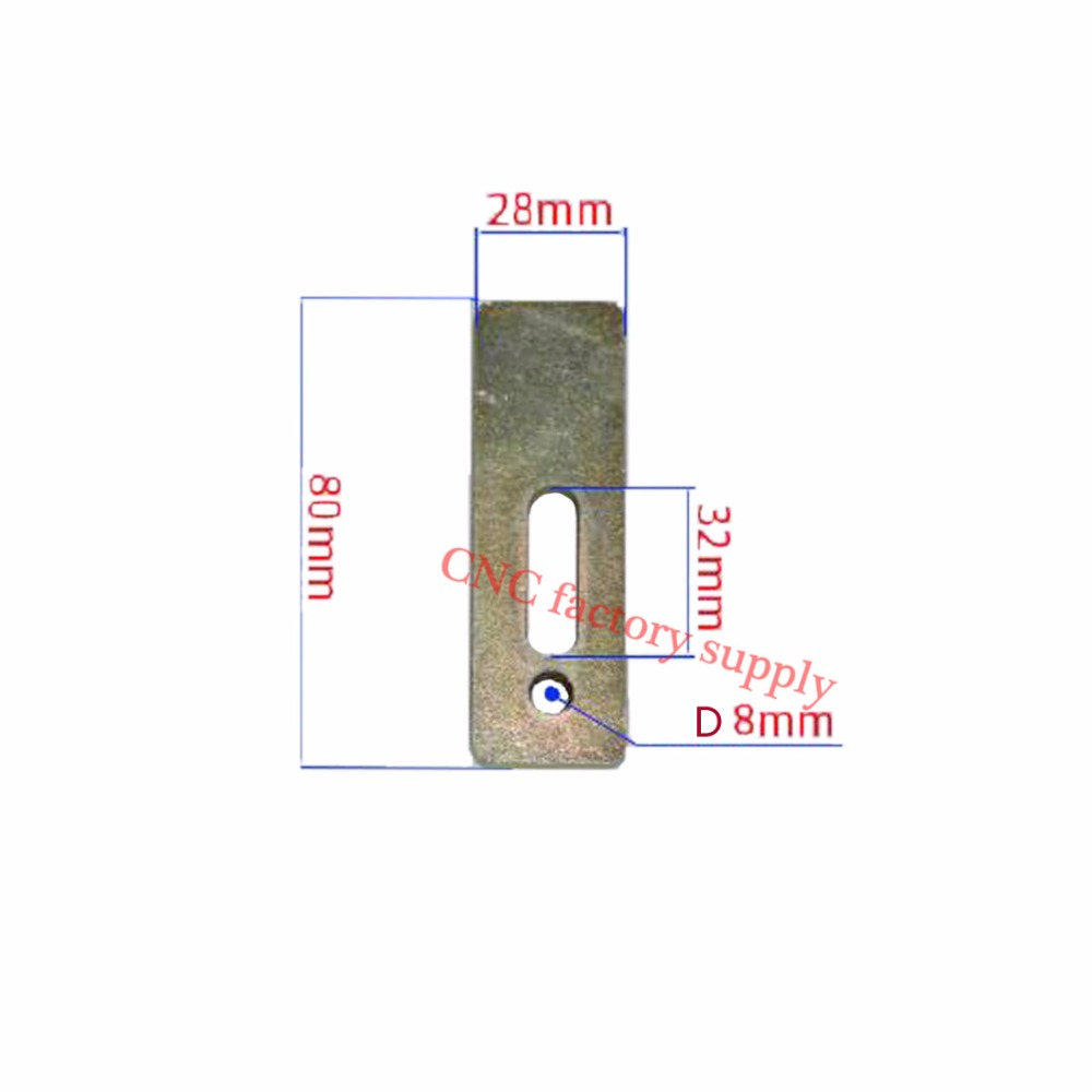 Able Hot Sale 1pc Pressure Plate Cnc Milling Engraving Machine Parts Clamp Fixture Plate Fastening Platen Router For Working Table