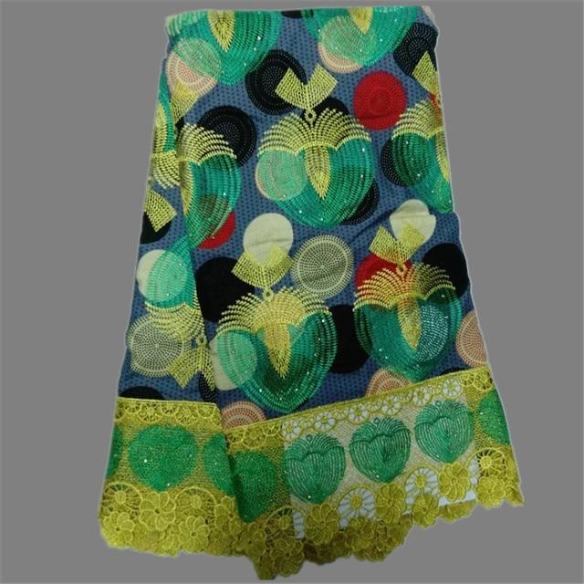 Aliexpress Buy Amazing Embroidery African Ankara Wax Lace