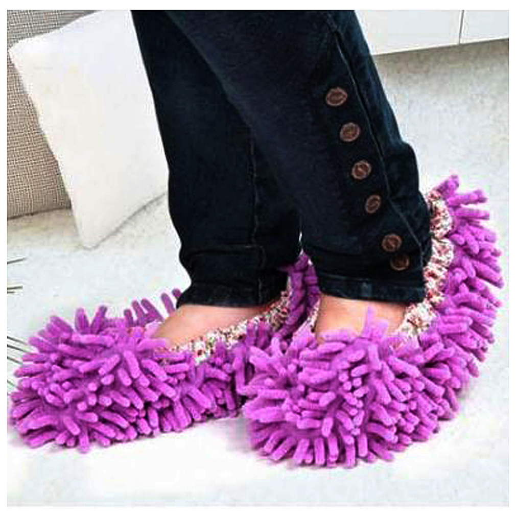 1 Pair Dust Cleaner Grazing Slippers House Bathroom Floor Cleaning Mop Cleaner Slipper Lazy Shoes Cover Microfiber демисезонные ботинки 2015 y3