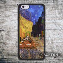 Кафе Терренс Ночью Ван Гог Case Для iPod 5 и Для iPhone 7 6 6 s Плюс 5 5S SE 5c 4 4S Старинные Картины Ультра Крышка Телефона