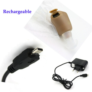 Image 5 - Hearing Ear Aid Rechargeable Small Convenient Adjustable Mini Hearing Aids Invisible Hear Clear the Elderly Deaf Ear care tools
