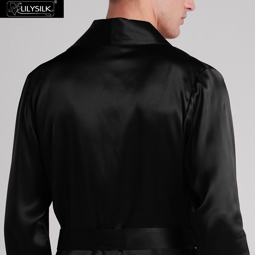1000-black-22-momme-lapel-collar-long-silk-dressing-gown-02
