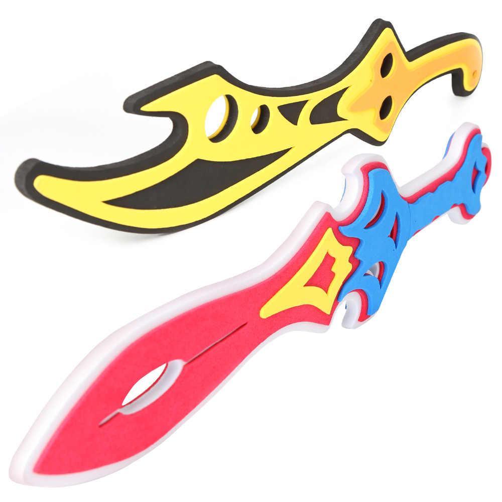 10 шт. набор игрушек из ЭВА, мечи из вспененного материала, игрушечный меч и щит воина ниндзя, игрушечный набор для ролевых игр для детей