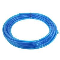49.2Ft Length 10mm x 6.5mm Air Pneumatic Tube PU Hose Clear Blue