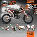 Customized Italy Style Team Graphics & Backgrounds Decals Stickers For KTM SIXDAYS SX SXF XCW XCF EXC 125 250 300 350 450 530