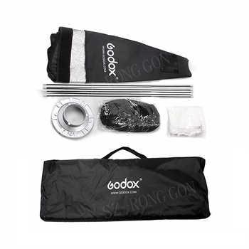 Godox 80cm*120cm Strip Beehive Honeycomb Grid Softbox with for Bowens Mount Studio Strobe Flash Light Photography Lighting